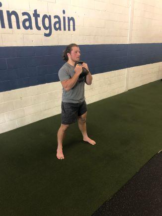 goblet squat 1